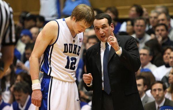 Duke head coach Mike Krzyzewski boasts a team