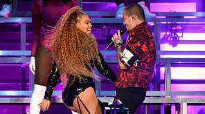 Beyoncé and J Balvin perform