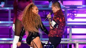 Beyoncé and J Balvin perform