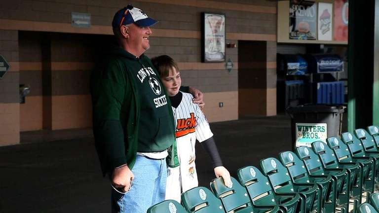 Charlie Kramer and his 11-year-old son Ryan are