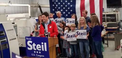 Attorney Bryan Steil announces his run to succeed