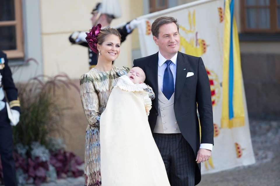 Sweden's Princess Madeleine and her husband, Christopher O'Neill,