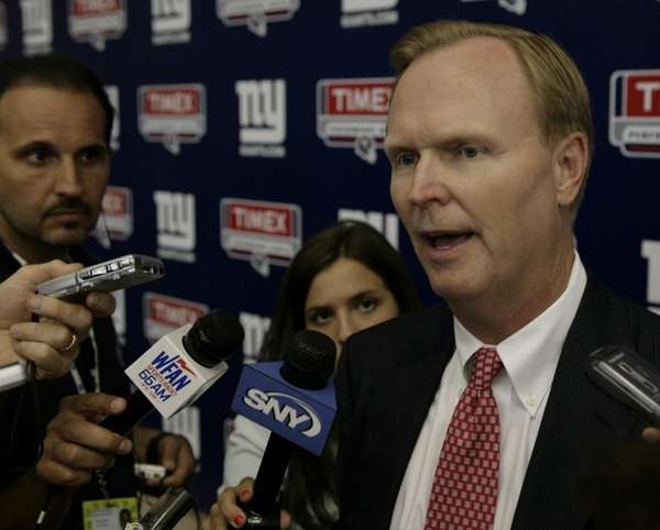 FILE - New York Giants owner John Mara