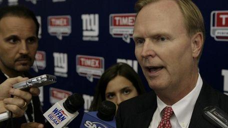 FILE - New York Giants owner John Mara