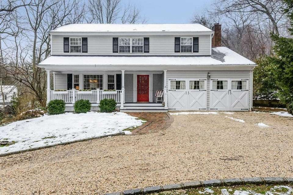 This Cold Spring Harbor Colonial includes four bedrooms