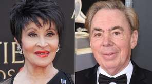 Chita Rivera and Andrew Lloyd Webber will be