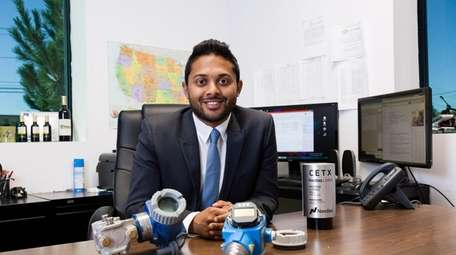 Saagar Govil, chief executive of Cemtrex Inc., an