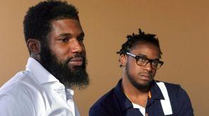 Rashon Nelson, left, and Donte Robinson said they