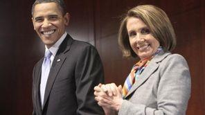 President Barack Obama, left, with Speaker of the