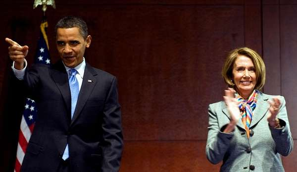 President Barack Obama, seen here with House Speaker