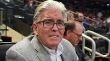 Mike Francesa at the Big East tournament at