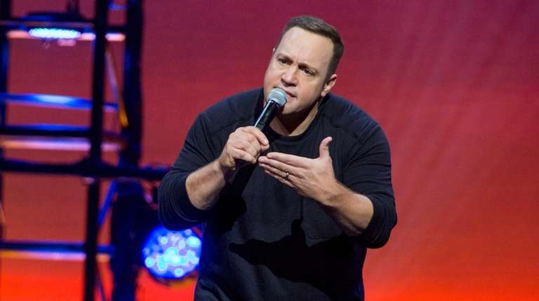 Comedian/actor Kevin James stars in his Netflix special