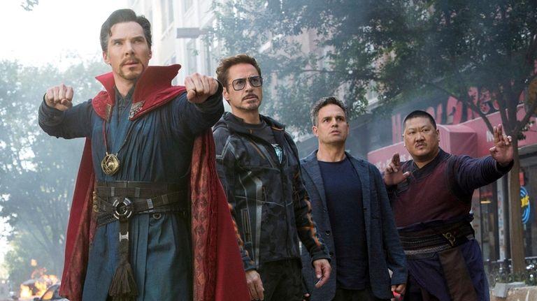 Doctor Strange/Stephen Strange (Benedict Cumberbatch), Iron Man/Tony
