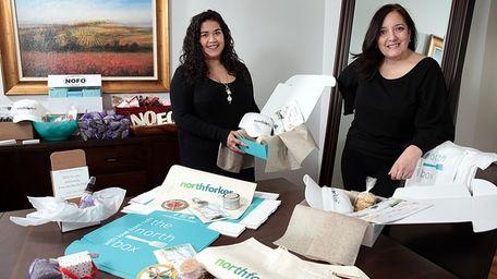 Carolina Paulino, left, and Maria Vizzi, co-founders of