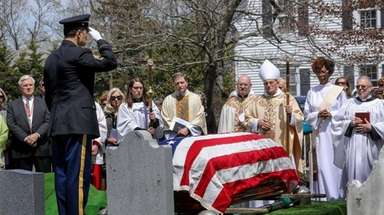 The Rev. Paul Wancura is laid to rest