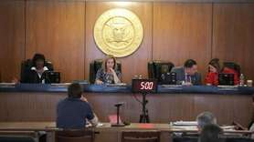 On Tuesday, at the Hempstead Town Board meeting Councilwoman Erin