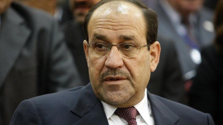 Iraqi Prime Minister Nouri al-Maliki and his coalition