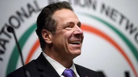 Gov. Andrew M. Cuomo attends the National Action
