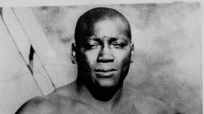 Jack Johnson, the first black boxing heavyweight champion