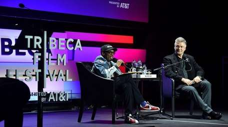 Spike Lee and Alec Baldwin hosted a Tribeca