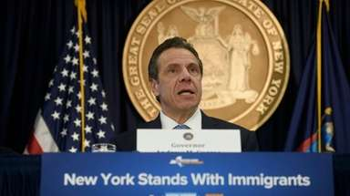 Gov. Andrew M. Cuomo, at his Manhattan office
