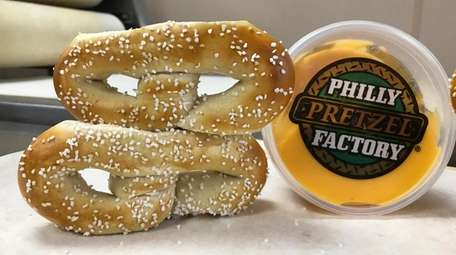 The real pretzel from Philly Pretzel Factory in