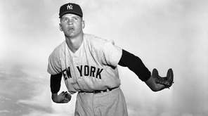 Yankees pitcher Ralph Terry is shown during a