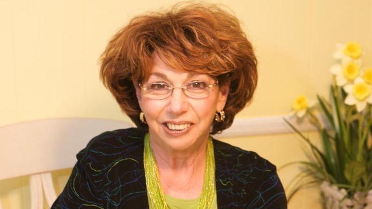 Reader Diana Podolnick with a matzo brei l'orange