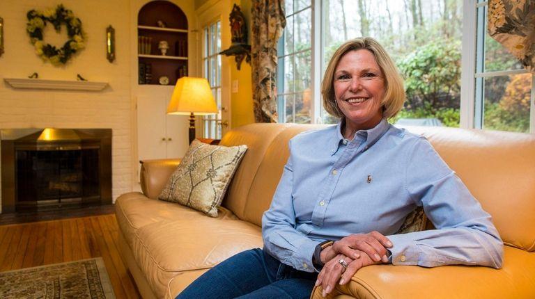 Susan Weber is seen in her Melville home,
