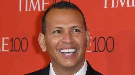 Alex Rodriguez attends the Time 100 Gala at