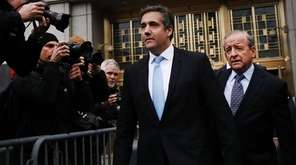 President Donald Trump's long-time personal attorney Michael Cohen