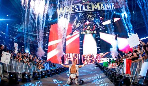 Shawn Michaels at WrestleMania 25