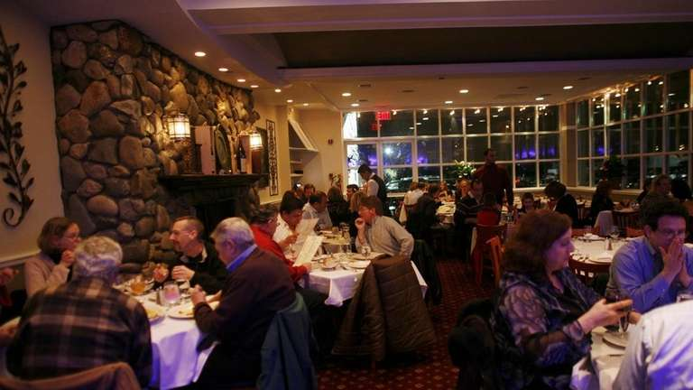 The main dining room at La Parma in