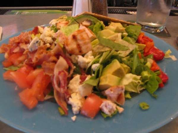 Cobb salad at Beachtree Cafe in East Islip
