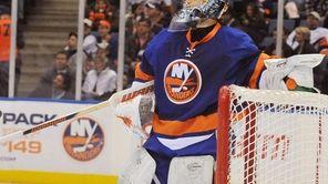 Injured Islanders goalie Rick DiPietro will shut it
