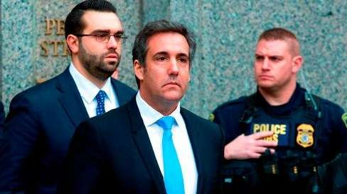 Trump acknowledges that Cohen represented him in Daniels case