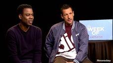 Chris Rock and Adam Sandler, whose comedy