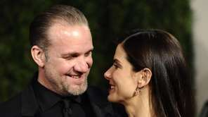 Sandra Bullock and Jesse James arrive at the
