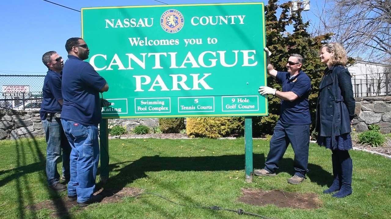 One by one, the administration of Nassau County