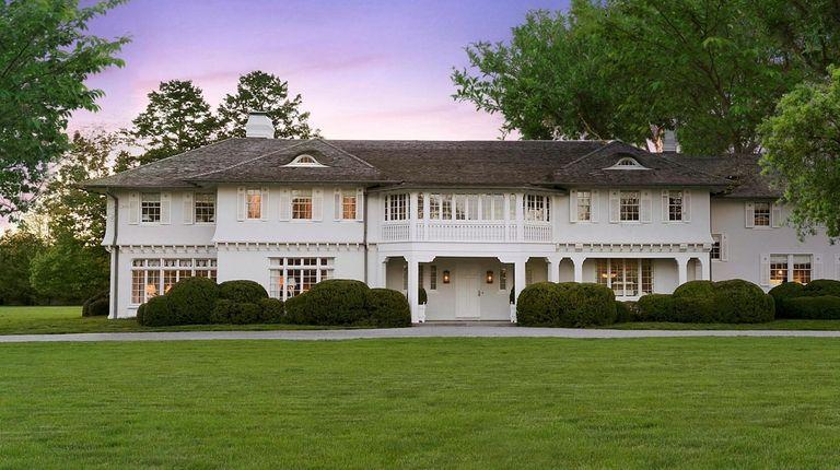 The 7-acre Lasata estate in East Hampton, where