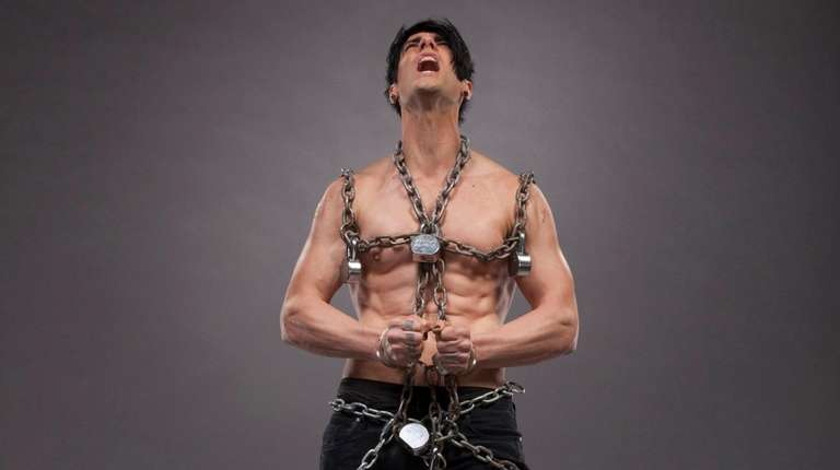 Magician Criss Angel, who grew up in East