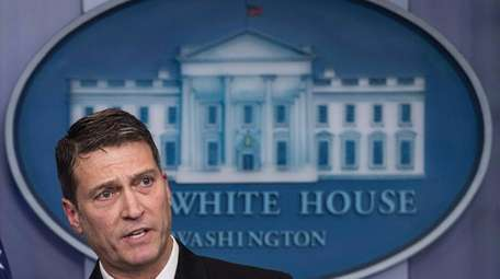 Rear Adm. Ronny Jackson, the White House physician,