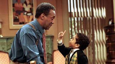 Bill Cosby in the taping of the final