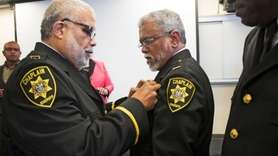 The Suffolk County Sheriff's Office on Thursday swore
