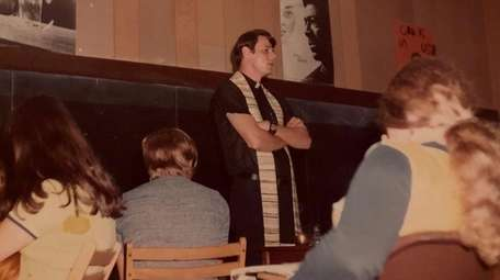 The Rev. Peter Charland, seen here in 1972
