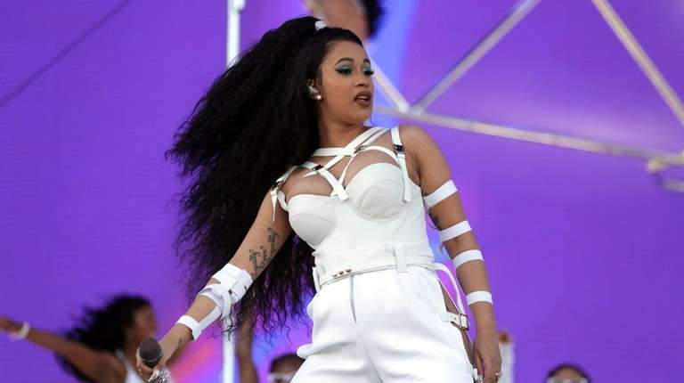 Cardi B performs at Coachella Valley Music And