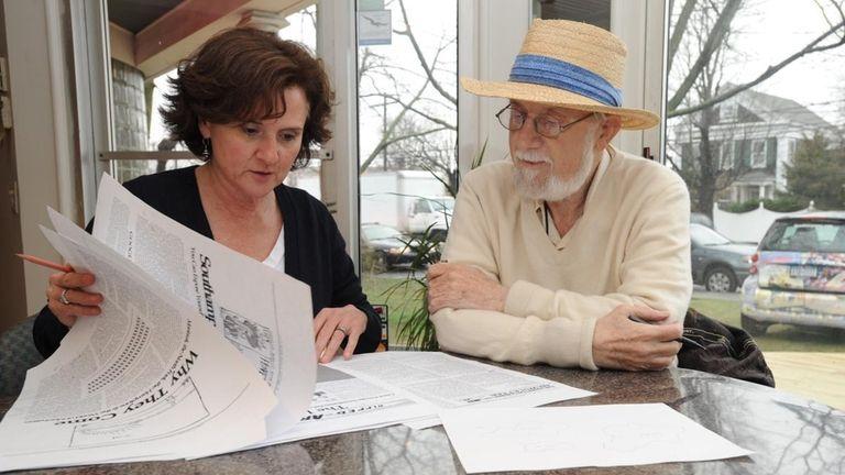 Dan Rattiner, owner of the Hamptons-centric Dan's Papers,