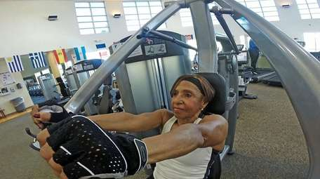 Elsie Sierra, 71, stopped working out after her