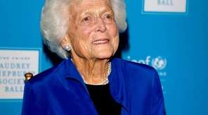 Former first lady Barbara Bush died on April