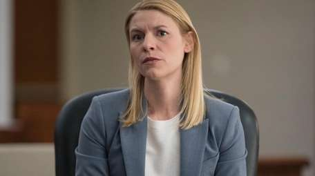 Claire Danes stars as Carrie Mathison in Showtime's